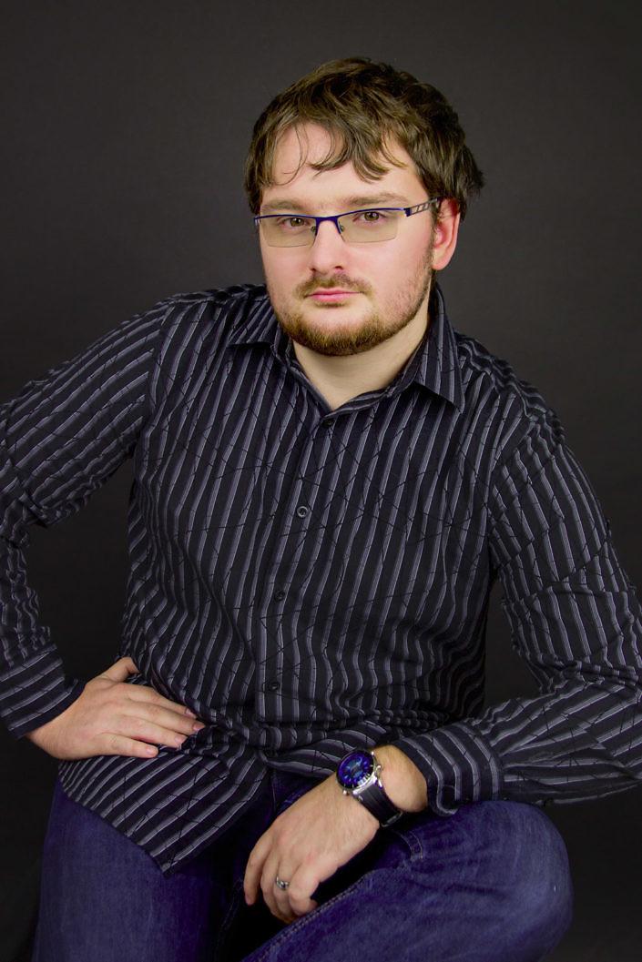 Portrét muže v košili