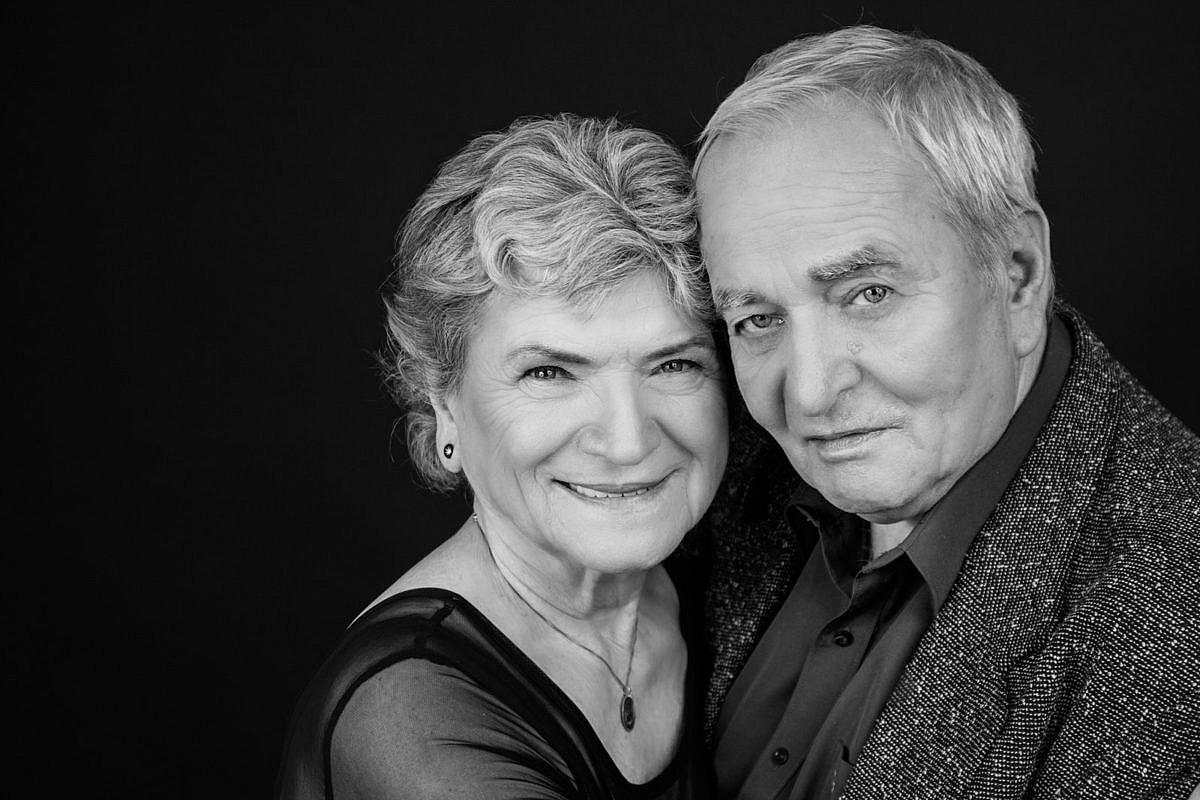 Portrét staršího páru